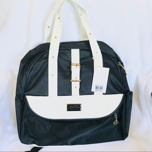 NWT MACBETH COLLECTION Backpack Black and White